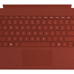 Surface Pro Signa Type Cover English Poppy Red