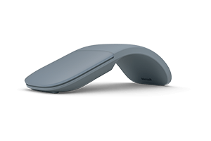 Microsoft Surface Arc Mouse - Mouse - optical - 2 buttons - wireless - Bluetooth 4.1 - light gray